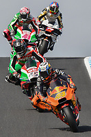 October 27, 2018: Pol Espargaro (SPA) on the No.44 Ktm from Red Bull Ktm Factory Racing at Lukey Heights corner during practice session four at the 2018 MotoGP of Australia at Phillip Island Grand Prix Circuit, Victoria, Australia. Photo Sydney Low