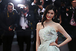 Cannes Film Festival 2018 - 71st edition - Day 3 - May 10 in Cannes, on May 10, 2018; Screening of PLAIRE, AIMER et COURIR VITE; Sui He