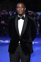 "Junior Afolabi<br /> arriving for the ""Blue Story"" premiere at the Curzon Mayfair, London.<br /> <br /> ©Ash Knotek  D3534 14/11/2019"