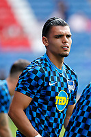 Karim Rekik of Hertha Berlin seen during the pre season friendly match between Crystal Palace and Hertha BSC at Selhurst Park, London, England on 3 August 2019. Photo by Carlton Myrie / PRiME Media Images.