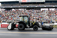 27th September 2020, Gainsville, Florida, USA;  NHRA Mello Yello track crew during the 51st annual Amalie Motor Oil NHRA Gatornationals