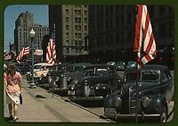 Lincoln Nebraska, 1941 color image