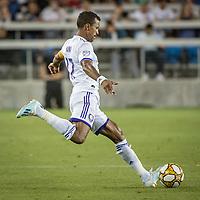 SAN JOSE,  - SEPTEMBER 1: Nani  #17 of the Orlando City SC during a game between Orlando City SC and San Jose Earthquakes at Avaya Stadium on September 1, 2019 in San Jose, .