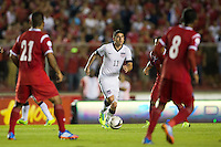 Panama City, Panama - Tuesday, October 15, 2013: The US Men's National soccer team defeated Panama 3-2 during their final WCQ Hexagonal round match at Estadio Rommel Fernandez.
