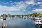 Woods Hole in Falmouth, Cape Cod, Massachusetts, USA