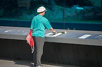 """Gedenken an die NS-Patientenmorde am Freitag den 30. August 2019 in Berlin.<br /> Mit der """"Aktion T4"""", wurden mehr als 70.000 Menschen mit koerperlichen, geistigen und seelischen Behinderungen ermordet.<br /> Im Bild: Die Gedenkstaette im Berliner Tiergarten.<br /> 30.8.2019, Berlin<br /> Copyright: Christian-Ditsch.de<br /> [Inhaltsveraendernde Manipulation des Fotos nur nach ausdruecklicher Genehmigung des Fotografen. Vereinbarungen ueber Abtretung von Persoenlichkeitsrechten/Model Release der abgebildeten Person/Personen liegen nicht vor. NO MODEL RELEASE! Nur fuer Redaktionelle Zwecke. Don't publish without copyright Christian-Ditsch.de, Veroeffentlichung nur mit Fotografennennung, sowie gegen Honorar, MwSt. und Beleg. Konto: I N G - D i B a, IBAN DE58500105175400192269, BIC INGDDEFFXXX, Kontakt: post@christian-ditsch.de<br /> Bei der Bearbeitung der Dateiinformationen darf die Urheberkennzeichnung in den EXIF- und  IPTC-Daten nicht entfernt werden, diese sind in digitalen Medien nach §95c UrhG rechtlich geschuetzt. Der Urhebervermerk wird gemaess §13 UrhG verlangt.]"""