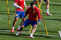 Spainsh Nolito during the training of the spanish national football team in the city of football of Las Rozas in Madrid, Spain. November 09, 2016. (ALTERPHOTOS/Rodrigo Jimenez) ///NORTEPHOTO.COM