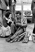- student manifestation  (Milan, 1974)....- manifestazione studentesca  (Milano, 1974)