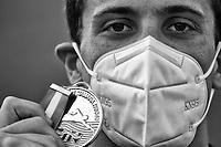 MENCARINI Luca Italian Champion<br /> 200m Backstroke Men<br /> Roma 13/08/2020 Foro Italico <br /> FIN 57 Trofeo Sette Colli 2020 Internazionali d'Italia<br /> Photo Andrea Staccioli/DBM/Insidefoto