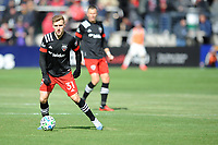 WASHINTON, DC - FEBRUARY 29: Washington, D.C. - February 29, 2020: Julian Gressel  #31 of D.C. United moves the ball during a game between D.C. United and the Colorado Rapids. The Colorado Rapids defeated D.C. United 2-1 during their Major League Soccer (MLS)  match at Audi Field during a game between Colorado Rapids and D.C. United at Audi FIeld on February 29, 2020 in Washinton, DC.
