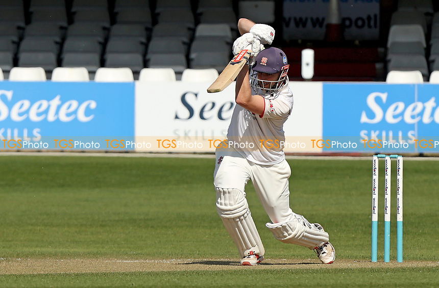 Nick Browne of Essex hits out during Essex CCC vs Kent CCC, Friendly Match Cricket at The Cloudfm County Ground on 30th March 2021