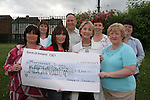 Cheque Presentation in Marymount NS