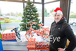 Eamon Foley in the Christmas spirit at Spin Doctors in Abbeyfeale