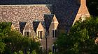 June 24, 2021; Detail of Dillon Hall (Photo by Matt Cashore/University of Notre Dame)