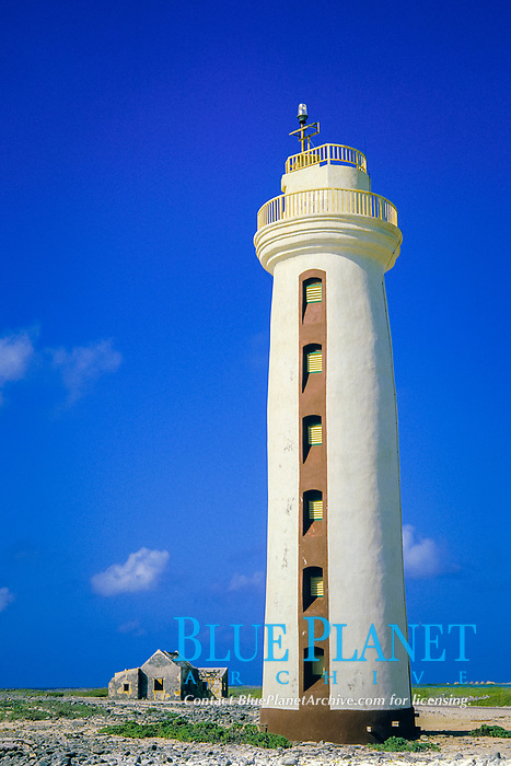 Willemstoren Lighthouse (built 1837), Bonaire Netherland Antilles or Dutch ABC Islands (Caribbean, Atlantic)