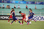 Japan vs China PR during the 2014 AFC Women's Asian Cup Fifth Semi-finals match on May 22, 2014 at the Thống Nhất Stadium in THồ Chí Minh City, Vietnam. Photo by World Sport Group