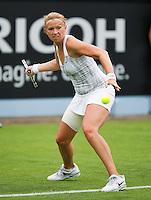 16-06-13, Netherlands, Rosmalen,  Autotron, Tennis, Topshelf Open 2013, First round,  Michaella Krajicek<br /> <br /> Photo: Henk Koster