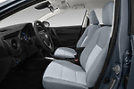 Front seat view of a 2018 Toyota Corolla L 4 Door Sedan front seat car photos
