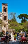 Italien, Kampanien, Ravello: Dom und Campanile auf der Piazza del Vescovado | Italy, Campania, Ravello: Cathedrale and Campanile at Piazza del Vescovado