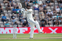 Devon Conway, New Zealand pulls a short delivery for four during India vs New Zealand, ICC World Test Championship Final Cricket at The Hampshire Bowl on 23rd June 2021