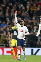 Lucas of Tottenham Hotspur celebrates scoring the second goal during Tottenham Hotspur vs Southampton, Emirates FA Cup Football at Tottenham Hotspur Stadium on 5th February 2020