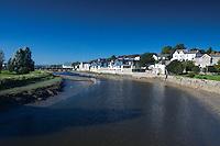 The River Camel, the Camel Estuary, Wadebridge, Cornwall