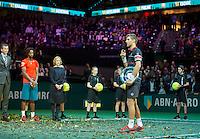 Rotterdam, The Netherlands, February 14, 2016,  ABNAMROWTT, Men's single final, <br /> Photo: Tennisimages/Henk Koster