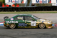 Round 1 of the 1998 British Touring Car Championship. #11 Paul Radisich (NZL). Esso Ultron Team Peugeot. Peugeot 406.