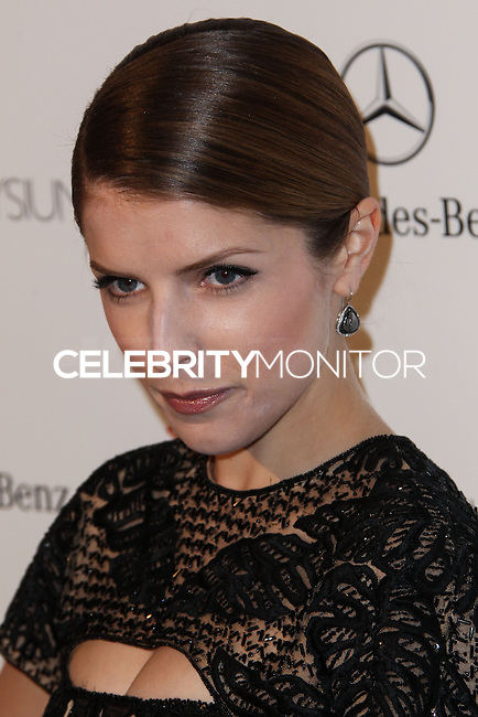 LOS ANGELES, CA - JANUARY 11: Anna Kendrick at The Art of Elysium's 7th Annual Heaven Gala held at Skirball Cultural Center on January 11, 2014 in Los Angeles, California. (Photo by Xavier Collin/Celebrity Monitor)