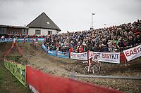 Laurens Sweeck (BEL/ERA-Murprotec)<br /> <br /> Jaarmarktcross Niel 2015  Elite Men & U23 race