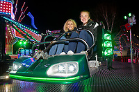 Pictured: Hollie Evans and Sophie Davies of Swansea City with children at Winter wonderland Swansea, in Swansea, Wales, UK. Wednesday 19 December 2018