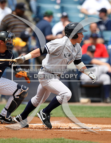 April 3, 2010:  Outfielder, 2009 first round draft pick, Slade Heathcott (40) of the New York Yankees playing in the annual Futures Game during Spring Training at Legends Field in Tampa, Florida.  Photo By Mike Janes/Four Seam Images