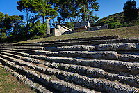Treasuries monument (6th cent. B.C.) in Olympia, Greece