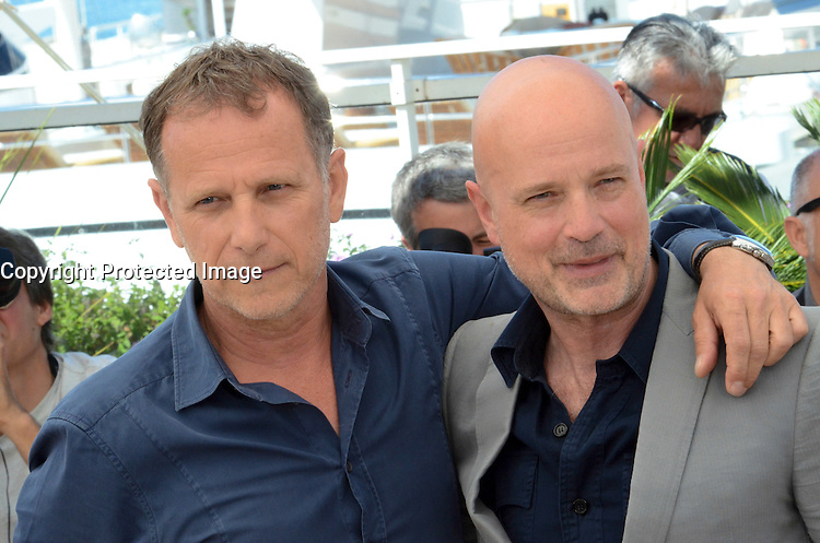 Charles Berling, Christian Berkelattends the 'Elle' Photocall during the 69th annual Cannes Film Festival at the Palais des Festivals on May 21, 2016 in Cannes, France.