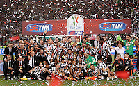 20150520 ROMA-CALCIO: LA JUVENTUS BATTE LA LAZIO E CONQUISTA LA DECIMA COPPA ITALIA