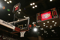STANFORD, CA - FEBRUARY 14:  Basketball during Stanford's 58-41 win against the California Golden Bears on February 14, 2009 at Maples Pavilion in Stanford, California.