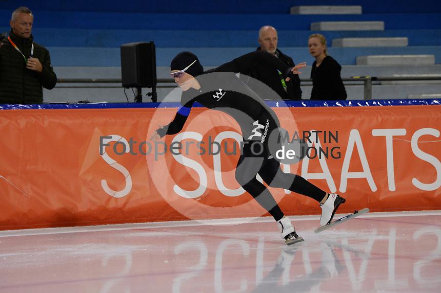 SCHAATSEN: HEERENVEEN: IJsstadion Thialf,  26-09-2020, KNSB Trainingswedstrijd, Jutta Leerdam, ©foto Martin de Jong