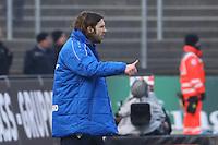 Trainer Torsten Frings (SV Darmstadt 98)- 11.02.2017: SV Darmstadt 98 vs. Borussia Dortmund, Johnny Heimes Stadion am Boellenfalltor