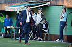 FK Trakai v St Johnstone…06.07.17… Europa League 1st Qualifying Round 2nd Leg, Vilnius, Lithuania.<br />Tommy Wright leaves the dugout at full time<br />Picture by Graeme Hart.<br />Copyright Perthshire Picture Agency<br />Tel: 01738 623350  Mobile: 07990 594431