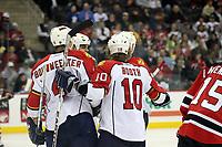 Torjubel Florida Panthers<br /> New Jersey Devils vs. Florida Panthers<br /> *** Local Caption *** Foto ist honorarpflichtig! zzgl. gesetzl. MwSt. Auf Anfrage in hoeherer Qualitaet/Aufloesung. Belegexemplar an: Marc Schueler, Am Ziegelfalltor 4, 64625 Bensheim, Tel. +49 (0) 6251 86 96 134, www.gameday-mediaservices.de. Email: marc.schueler@gameday-mediaservices.de, Bankverbindung: Volksbank Bergstrasse, Kto.: 151297, BLZ: 50960101
