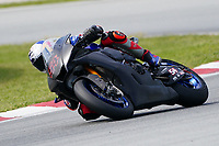 31st  March 2021; Barcelona, Spain; World Superbike testing at Circuit Barcelona-Catalunya;   Toprak Razgatlioglu riding Yamaha YZF R1 for Pata Yamaha WORLDSBK Team
