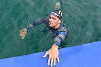 PALTRINIERI Gregorio ITA<br /> Team Event 5 km<br /> Open Water<br /> Budapest  - Hungary  15/5/2021<br /> Lupa Lake<br /> XXXV LEN European Aquatic Championships<br /> Photo Andrea Staccioli / Deepbluemedia / Insidefoto