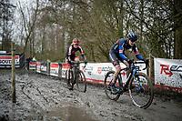 Lucinda Brand (NED/Baloise Trek Lions)<br /> <br /> 2021 Flandriencross Hamme (BEL)<br /> women's race<br /> <br /> ©kramon