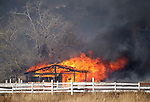 A 2,000-acre brush fire burns in south Reno, Nev., on Friday, Nov. 18, 2011. .Photo by Cathleen Allison