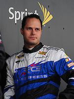 Feb 22, 2009; Fontana, CA, USA; NASCAR Sprint Cup Series driver David Gilliland during the Auto Club 500 at Auto Club Speedway. Mandatory Credit: Mark J. Rebilas-
