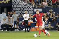 KANSAS CITY, KANSAS - JUNE 26: Jordan Morris #11 during a 2019 CONCACAF Gold Cup group D match between the United States and Panama at Children's Mercy Park on June 26, 2019 in Kansas City, Kansas.