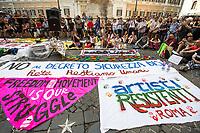 15.07.2019 - Manifestazione Contro il Decreto Sicurezza Bis – Demo Against Security Decree Bis