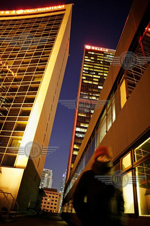 Beijing's Central Business District (CBD).