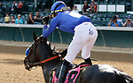 June 26, 2021: Maxfield, #8, ridden by jockey Jose L. Ortiz, wins the Stephen Foster Stakes (Grade 2) at Churchill Downs on June 26, 2021 in Louisville, Kentucky. Candice Chavez/Eclipse Sportswire/CSM