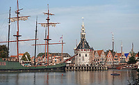Nederland - Hoorn- 2020.   De Hoofdtoren bij de haven.   Foto ANP / HH / Berlinda van Dam